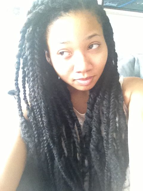 Marley Twists Call Me Kinky - First Day Of School Hairstyles
